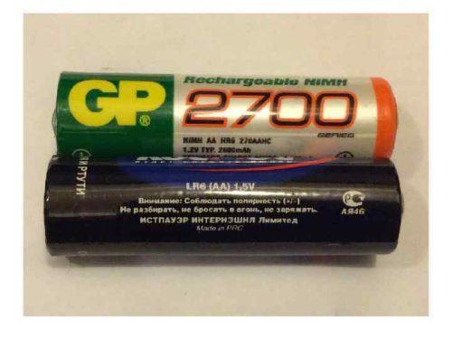 отличие батареек