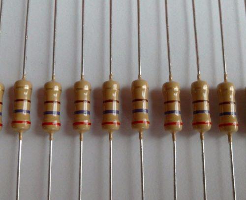 последовательность-резисторов