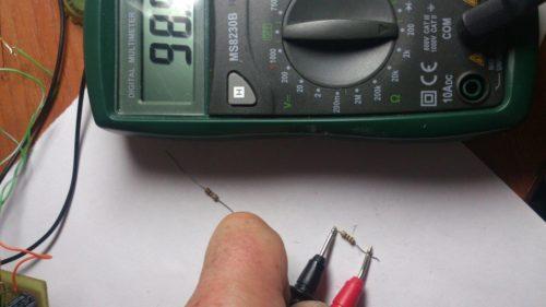 проверка-резистора мультиметром
