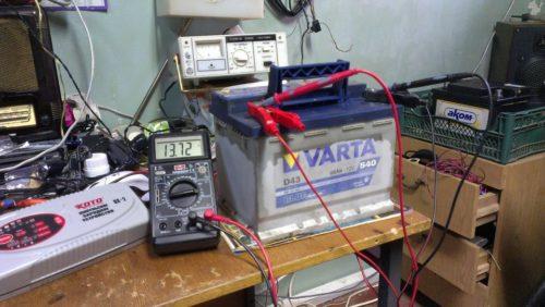 заряд-аккумулятора