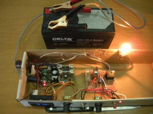 зарядка аккумулятора ипб